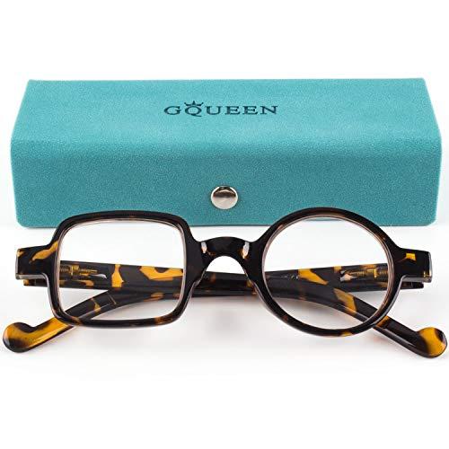 Occhiali da Lettura per Uomo Rotondi Quadrati Divertenti alla Moda per Donne Occhiali da Lettura 1.5, LH13