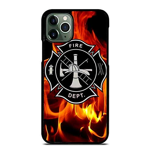 Deal Market LLC -Firefighter Fire Man Fire Rescue-Hard Rubber Phone case Compatible with Samsung Note 20 (2020 Model)