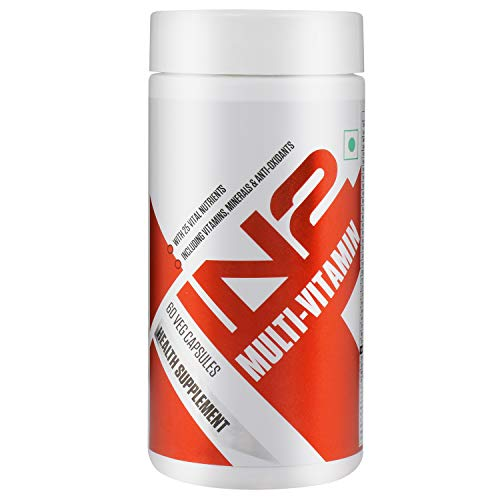IN2 Multivitamin, Multi-minerals and Anti-Oxidant, 25 Vital Nutrients, 60 Capsules