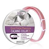 Jmxu's Calming Collar for Cats Anxiety Relief for Cats Calming Kitten Collar