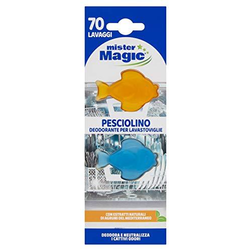 MR.MAGIC, Deodorante Lavastoviglie a Forma di Pesciolino, 6ml
