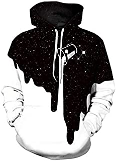 Creative Starry sky Hoodies For Women Men fashion Streetwear Clothing Hooded Sweatshirt 3d Print Hoody casual Pullover mm