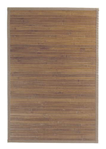 Ridder 7960308 Tropica Tapis de Bain Bambou Beige 60 x 90 cm