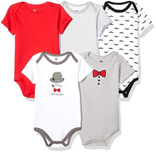 Hudson Baby Unisex Baby Cotton Bodysuits