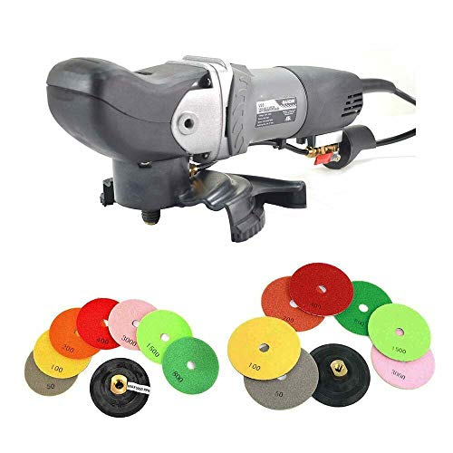 Affordable New Variable Speed Wet Grinder Polisher 110Volt with 4 & 5 Inch Polishing Pads