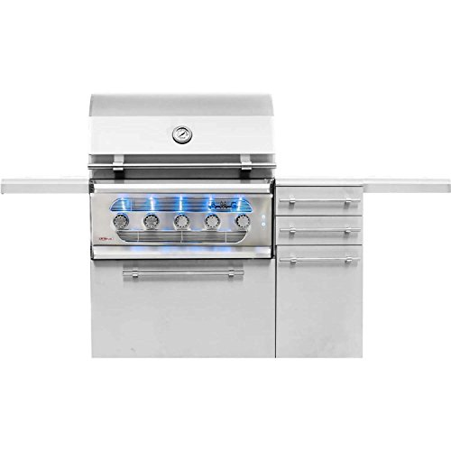 American Muscle Grill Grilling : Gas Grills AMG36-NG-AMG36-CART Freestanding Dual Fuel Wood/Charcoal...