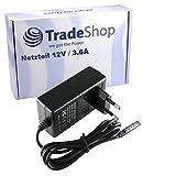 Trade-Shop Trade-Shop - Fuente de alimentación para Microsoft Surface RT/Surface Pro/RT 10.6 y Surface Pro 2 (12 V, 3,6 A, sustituye a DSE-AD24-120200 Q6T-00002)
