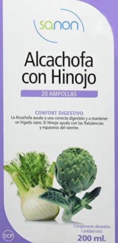 SANON Alcachofa + Hinojo 20 ampollas de 10 ml