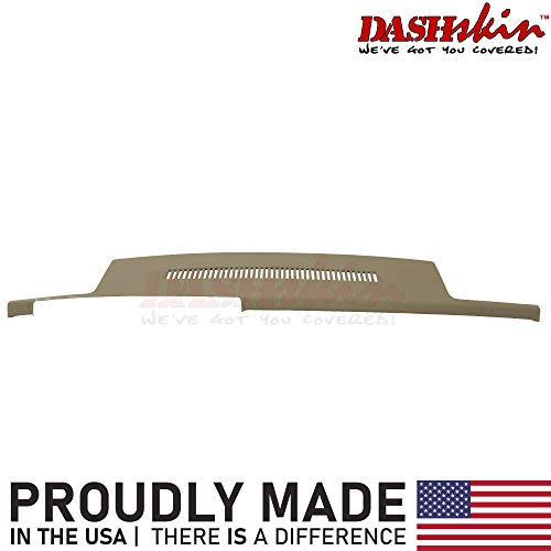 DashSkin Molded Dash Cover Compatible with 88-94 GM Trucks in Beige