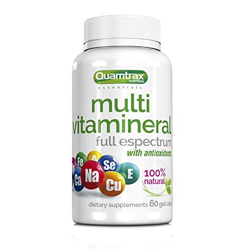 Quamtrax Nutrition Multivitamineral - 60 capsulas