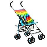 Carritos y sillas de Paseo Cochecito de Raya de Verano Buggy de Viaje Ligero Práctico Cochecito de bebé Plegable, Easy Fold City Stroller Bebé Sillas de Paseo
