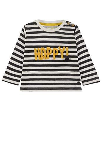TOM TAILOR Kids T-Shirt Striped, Multicolore (Original|Multicolored 0004), 68 Bébé garçon