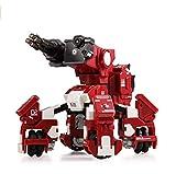 GJS Robot – GEIO Gaming Robot, App-Connected Program Robotic, STEM Educational Robots for Kids to Lean Coding, 8 Modes in 1(Pack of 2: Red & Blue) Concept Kart