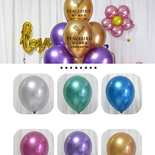 GE&YOBBY Maßgeschneiderte Balloons,1000 Päckchen Logo-Druck Balloons 1.9g 2.3g 2.8g Luftballons Für Werbung Unternehmen Aktivitäten Restaurant -b