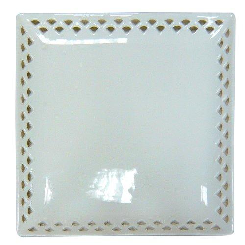 Better Best Source Ajourée &-Carré Porcelaine 2 x 26 x 26 cm