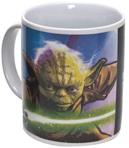 Star Wars 99108 - Yoda - Taza de cerámica en paquete regalo (12 x 9 x 10 cm)