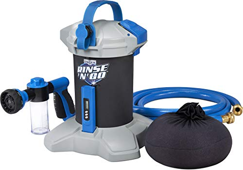 Unger Rinse 'n' Go Spotless Car Washing System with Deionization Filter