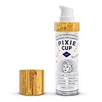 Pixie Menstrual Cup Cleaner Wash + Foaming Dispenser + More Wash in Bottle Than Any Other Brand + All Organic and Natural Ingredients + Healthy and Safest Way to Clean Your Period Cup (6.5oz)