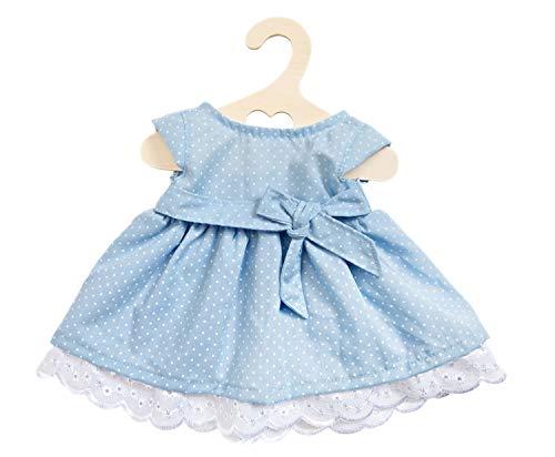 Heless 2150 - Kleid für Puppen in den Farbvarianten hellblau oder rosa, sortiert, Größe 35 - 45 cm