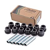Roykaw Spring Bushing Kit for Club Car DS Golf Cart G&E 1981-up and EZGO TXT 1994-up,Front & Rear/Shackle,1012303 1015583