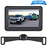 DoHonest Backup Camera and Monitor Kit HD 720P Easy Installation for...