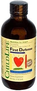 ChildLife Essentials First Defense 4 fl oz 118 5 ml