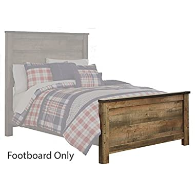 Ashley Furniture Signature Design - Trinell Queen Panel Footboard - Component Piece - Brown