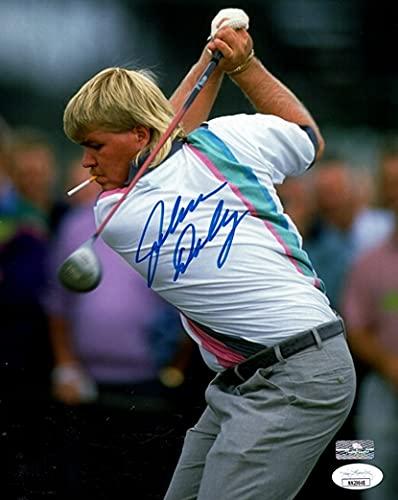 John Daly Autographed Golf (Smoking) 8x10 Photo - JSA