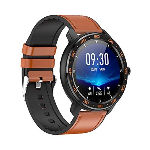 Wscoficey Reloj inteligente, IP68 resistente al agua con monitor de sueño/ritmo cardíaco, pantalla IPS Full Touch, múltiples modos deportivos