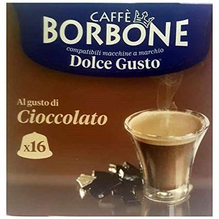 CHOCOLAT CAFFÈ BORBONE - 16 CAPSULES COMPATIBLES DOLCE GUSTO 20g