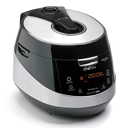 Chef Plus Induction Pro: Robot de Cocina con tecnología de inducción, menús preconfigurados y Personalizables y más de 800 Recetas exclusivas