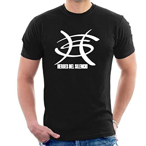 DIANXIAOERR Hombre Heroes del Silencio Logo 1 Easy Short Sleeved Camiseta/T-Shirt
