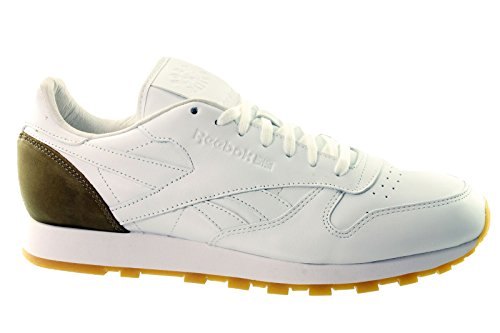 Reebok Classic Leather BXR Nacido X Raised v66670 para Hombre Trainers