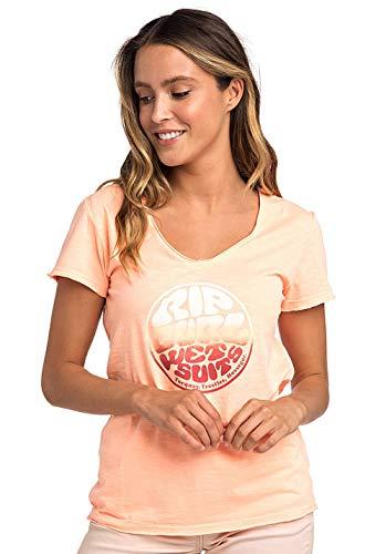 Rip Curl Dames, Print T-shirt, korte mouwen
