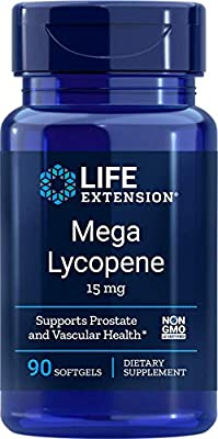 Life Extension Mega Lycopene, 15mg, 90 softgels, 00455
