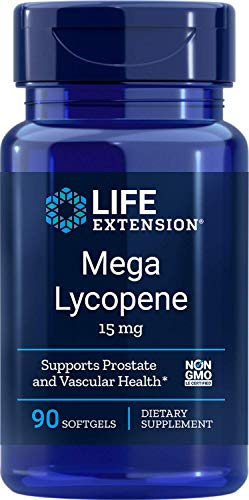 Life Extension Mega Lycopene Extract 15 Mg, 90 softgels (00455)