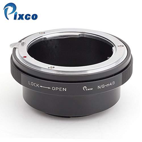 Traje PRO adaptador de lentes de control incorporado Iris Para Nikon F Monte lente G de micro cuatro tercios de la cámara 4/3