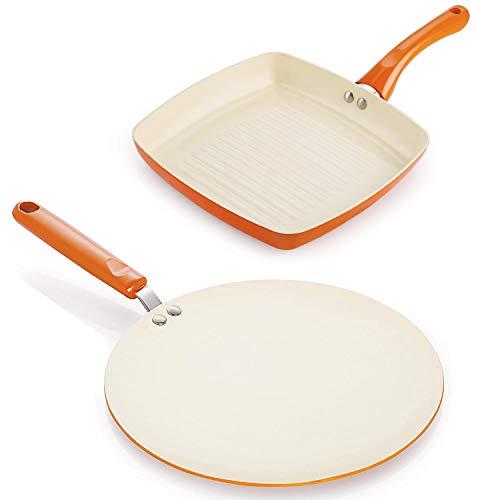 Nirlon Cookware & Kitchenware Non Stick Ceramic Coating...