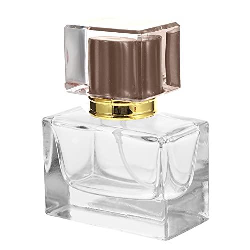Lurrose 3 Unidades de 30Ml Mini Perfume Botellas de Spray de Perfume Recargables Caja de La Bomba de Perfume Rociador de Perfume Pequeñas Botellas de Aerosol de Niebla Fina para Limpiar a