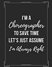 I'm A Choreographer: Choreography Notation Workbook
