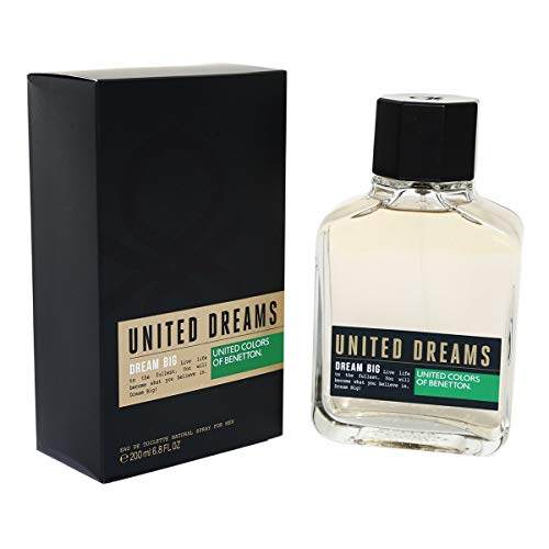 Dream Big for Men Benetton - Perfume Masculino - Eau de Toilette 200ml