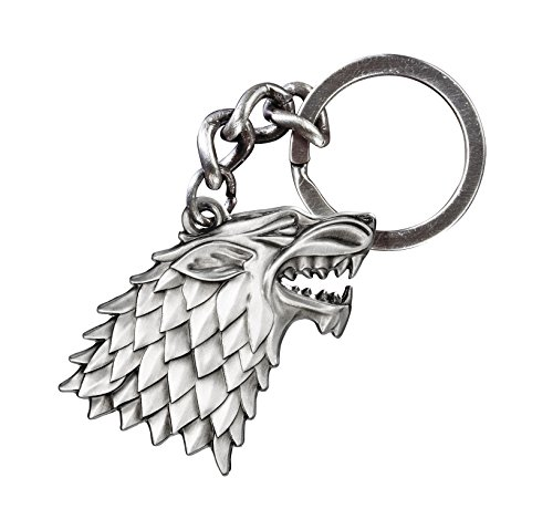 The Noble Collection Game of Thrones Stark Keychain