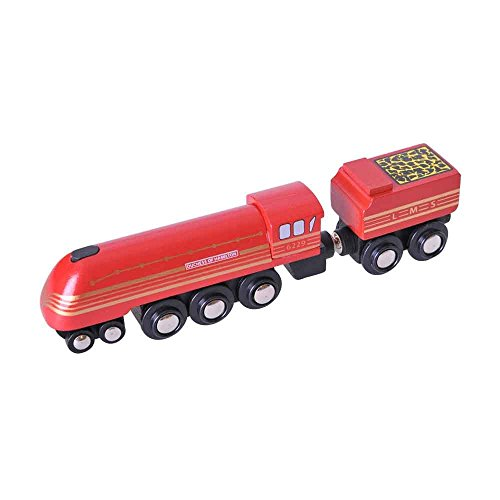 Bigjigs Rail Collection Patrimoine Locomotive Duchess of Hamilton