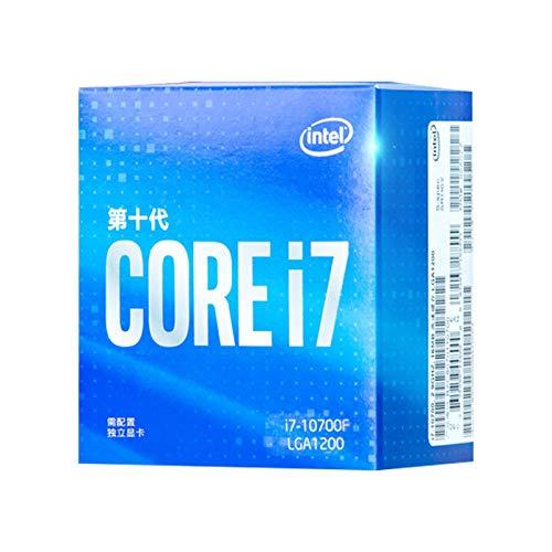 BXKEJI Modelo I7-7700K.I7-9700.I7-9700K.I7-10700.I7-10700F.I7-10700K Procesador CPU en Caja I7-10700F