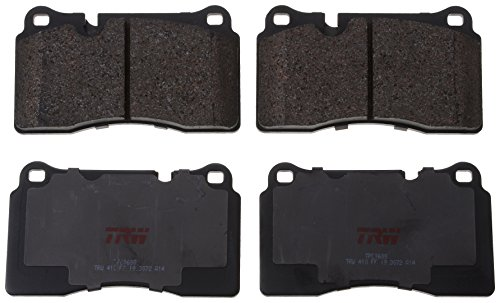 TRW TPC1600 Disc Brake Pad Set for Audi TT RS Quattro: 2012 - 2013 Front