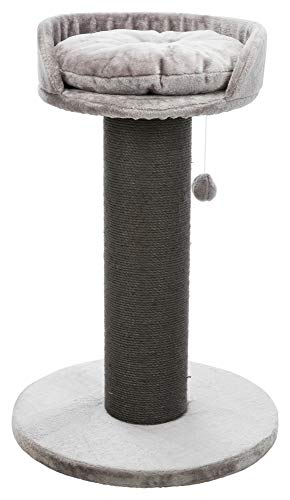 "TRIXIE Pepino Scratching Post – Toy - Cozy Bed – Indoor Cat Playground – Sisal Tower – 35"" Tall"