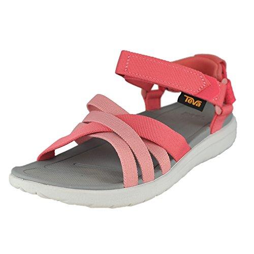 Teva Sanborn Sandal W's, Zapatillas de Atletismo Mujer, Rosa (Rose Coral), 37 EU