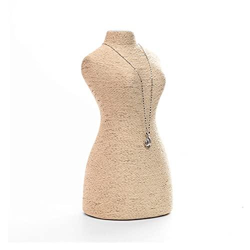 Soporte exhibición la joyería Collar de exhibición de la exhibición de la exhibición de la joyería - Freestanding colgante de la cadena de la joyería de la exhibición del titular de la joyería organ