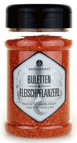 Ankerkraut Buletten & Fleischpflanzerl, Frikadellen & Hack, 220g im Streuer, Gewüzmischung zum Zubereiten von Rind und Schwein