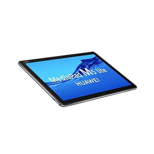 "HUAWEI MediaPad M5 Lite 10 - Tablet de 10.1"" Full HD (LTE, RAM de 3 GB, ROM de 32 GB, Android 8.0, EMUI 8.0) Color Gris 6"